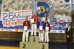 Mistrzostwa Polski Juniorów Młodszych w taekwondo